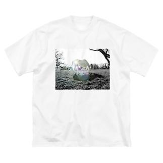 (公財)ハーモニィセンター チャリティグッズ セナ Big silhouette T-shirts