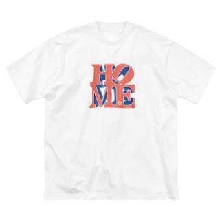 ゆったりHOME Big silhouette T-shirts