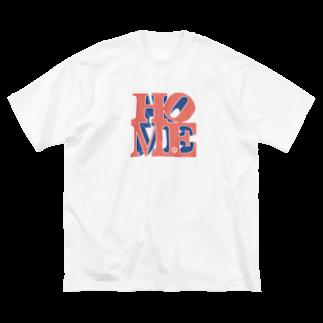 MTRのゆったりHOME Big silhouette T-shirts