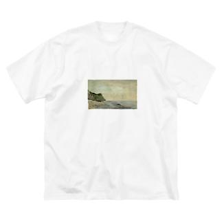 teki shopの日の出(モネ) Big silhouette T-shirts