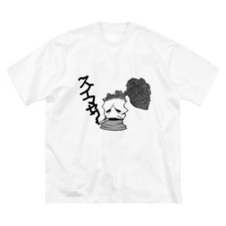 スイマセン Big silhouette T-shirts