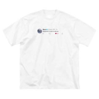 bebelipaのMoon 2020 Big silhouette T-shirts