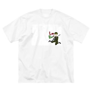 Love&Peace! Big silhouette T-shirts