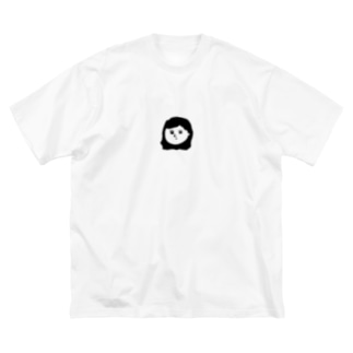 Perm Girl Big silhouette T-shirts