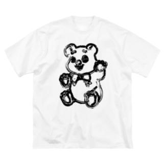 HUG me bears Big silhouette T-shirts