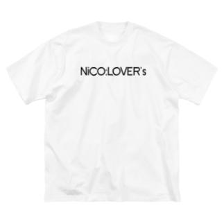 ニコラバーズ:桃音あんなデザイン Big silhouette T-shirts