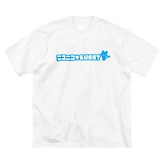 ニコニコ♡SWEET Big silhouette T-shirts