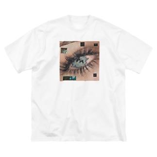 eye t-shirts Big silhouette T-shirts