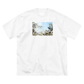 オリーブの葉 Big silhouette T-shirts