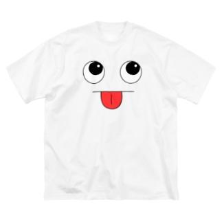 おばけくんっ! Big silhouette T-shirts