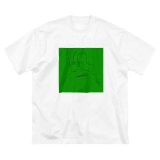 ラッセン Big silhouette T-shirts