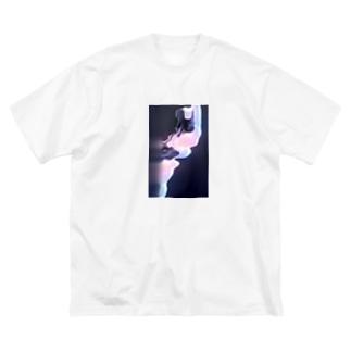 ぐにゃぐにゃ Big silhouette T-shirts