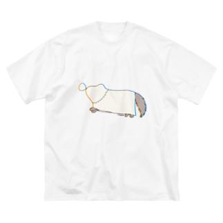 のっぺくん Big silhouette T-shirts