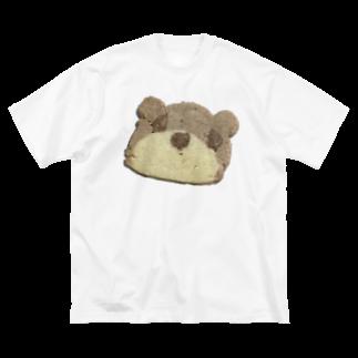 クマバチゴルフ倶楽部のクマさんクッキー Big silhouette T-shirts