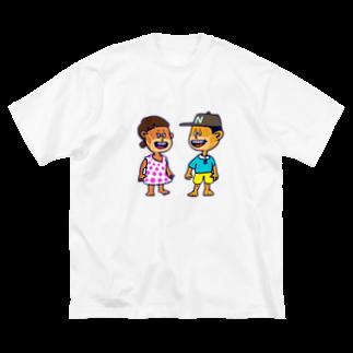 shota1202の2020年夏のサマーキッズたち Big silhouette T-shirts