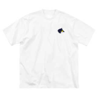 MB7のオオカミグラさんYL Big silhouette T-shirts