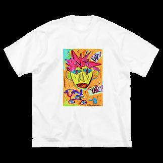 cyo...のYAPyyy Big silhouette T-shirts