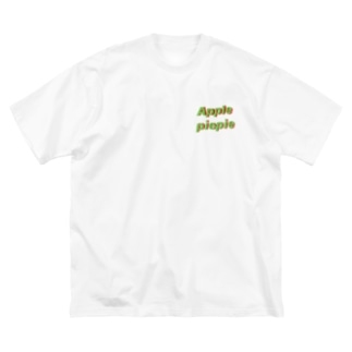 Apple piepie ビックT Big silhouette T-shirts