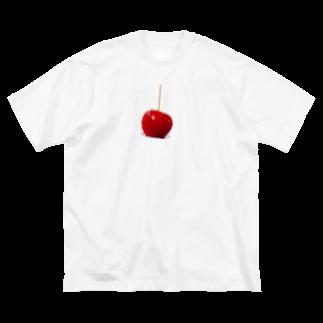 kirin.boutiqueのりんご飴🍎(やんちゃ) Big silhouette T-shirts
