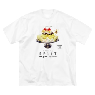 BANANA SPLIT Big silhouette T-shirts