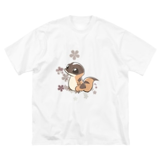 ニシアフちゃん Big Silhouette T-Shirt