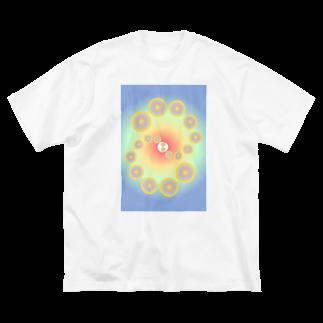 yatumeのWordArt4 Big silhouette T-shirts