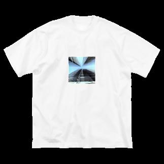 kouhei katoの抜け道 Big silhouette T-shirts