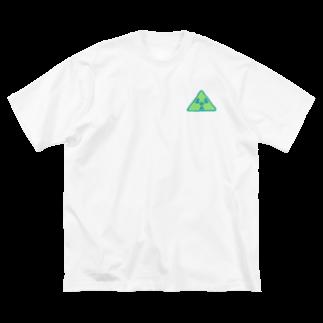 87Eのにゃすく対策 Big silhouette T-shirts