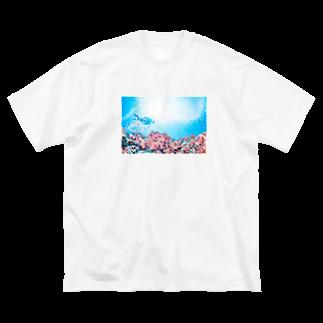 くりみなの宮古島2 Big silhouette T-shirts