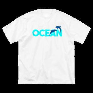 JOKERS FACTORYのOCEAN Big silhouette T-shirts
