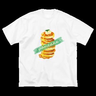 ruki_20150529のパンケーキ☆ Big silhouette T-shirts