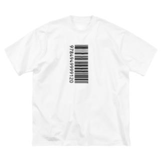 ITANJIのバーコード Big silhouette T-shirts