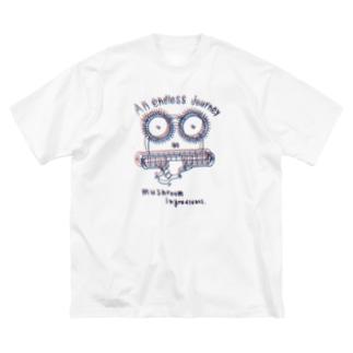 L君 商品説明 Big silhouette T-shirts