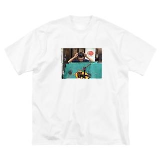 Bakeneko Big silhouette T-shirts