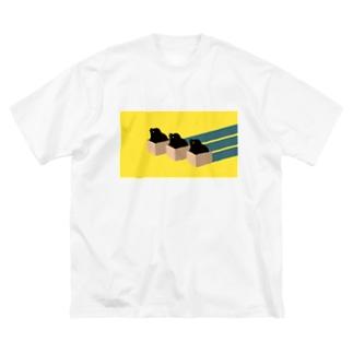 三羽ガラス Big Silhouette T-Shirt
