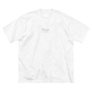 428ラバーズ Big silhouette T-shirts