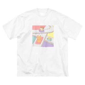 ベルトコンベアー Big silhouette T-shirts