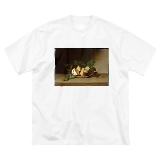 Still Life with Cake Big silhouette T-shirts
