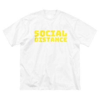 socail distance Big silhouette T-shirts