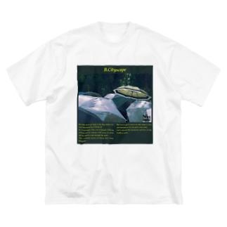 """B.Cityscape"" Tee 「rainy」 Big silhouette T-shirts"