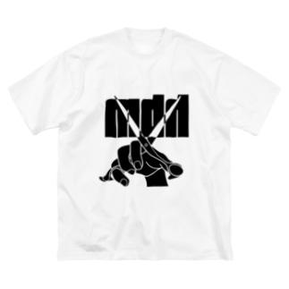 hbm オリジナルTシャツその1 Big silhouette T-shirts