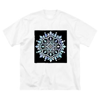 小枝[FunCoMadeメンバー]のMANDARA-RADEN- Big silhouette T-shirts