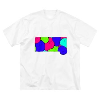 みつです Big silhouette T-shirts