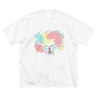 Vivid Donuts  Big silhouette T-shirts