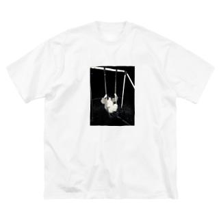 あの娘 Big silhouette T-shirts