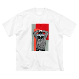 待ち焦がれて Big silhouette T-shirts