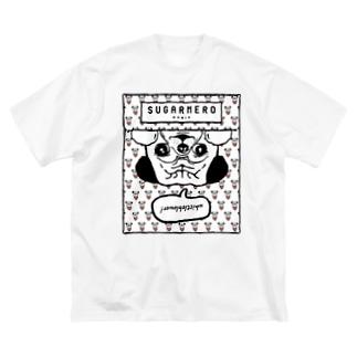 sugarmero_mochi02 Big silhouette T-shirts