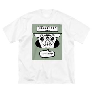 sugarmero_mochi03 Big silhouette T-shirts