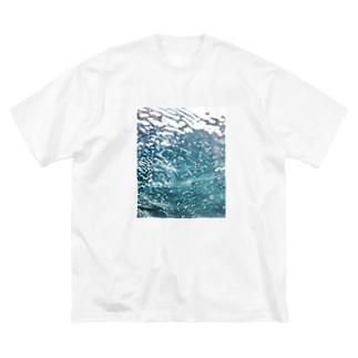 セブ島の海の中 Big silhouette T-shirts