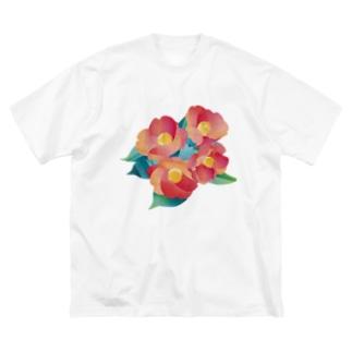 赤椿 Big T-shirts